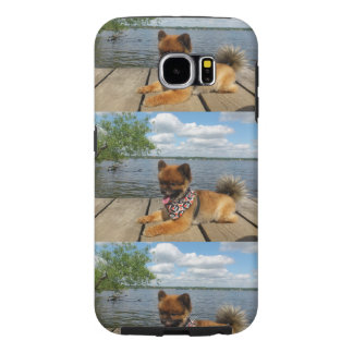 pom pup on dock.png samsung galaxy s6 case