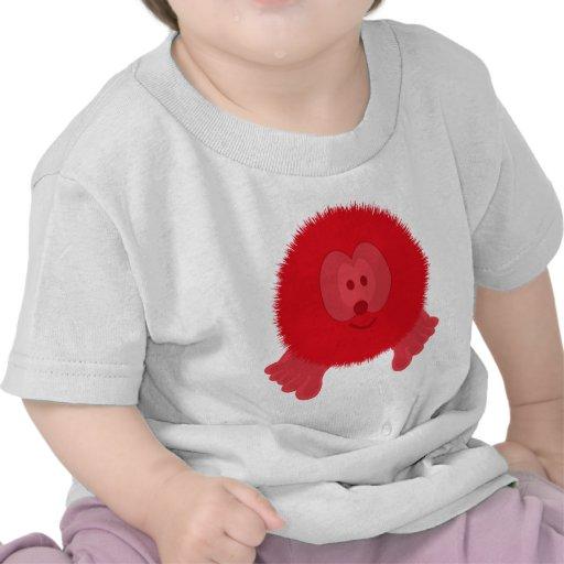 Pom rojo Pom PAL Camisetas