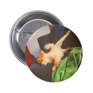 Pom Saturday Pinback Button