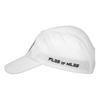 PoM White Running Hat