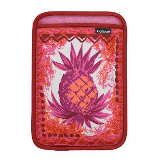 Pomaika'i Pineapple Hawaiian Engineered Tapa iPad Mini Sleeve
