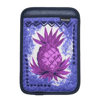 Pomaika'i Pineapple Hawaiian Engineered Tapa Sleeve For iPad Mini
