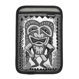 Pomaika'i Tiki Hawaiian Engineered Tapa iPad Mini Sleeve