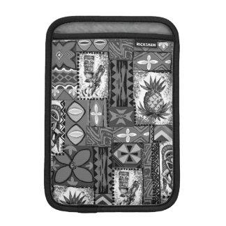 Pomaika'i Tiki Hawaiian Vintage Tapa iPad Mini Sleeve