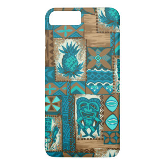 Pomaika'i Tiki Hawaiian Vintage Tapa iPhone 8 Plus/7 Plus Case