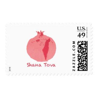"Pomegranate  2.1"" x 1.3"", $0.49 (1st Class 1oz) Postage"