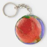 Pomegranate 2 Watercolor - Key Chain