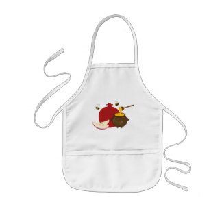 Pomegranate and Honey Kids Apron