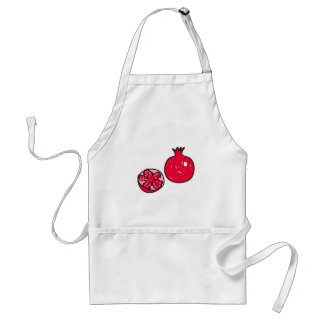 pomegranate adult apron