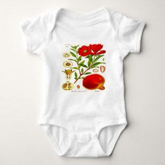 Pomegranate Baby Bodysuit