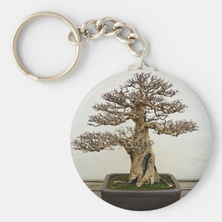 Pomegranate Bonsai Tree Keychain