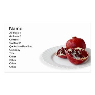 Pomegranate Business Card