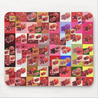 Pomegranate Cheater Quilt Mousepad