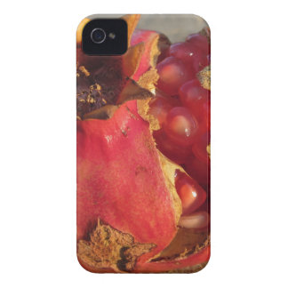 Pomegranate fruit with visible grains . Shooted at Case-Mate iPhone 4 Case