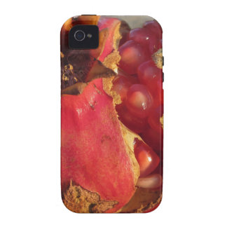 Pomegranate fruit with visible grains . Shooted at iPhone 4 Cover
