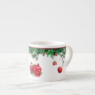 Pomegranate Garden Espresso Cup