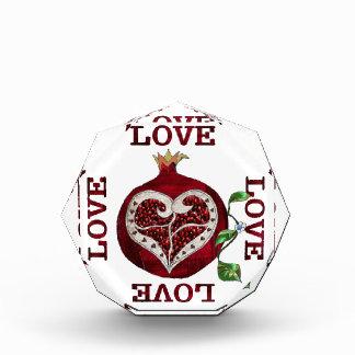 Pomegranate Heart LOVE Valentine Award