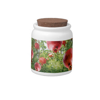 Pomegranate In Full Bloom Candy Jar