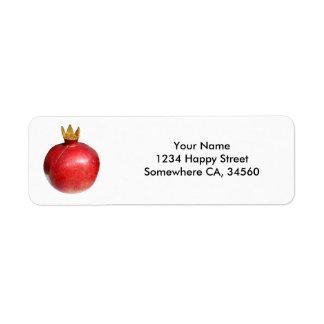 Pomegranate Label