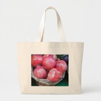 pomegranate large tote bag