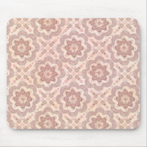 Pomegranate little hearts and pink beads mouse pad