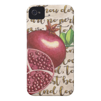 Pomegranate Love Once Again iPhone 4 Case-Mate Case