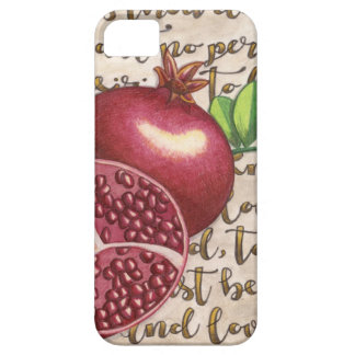 Pomegranate Love Once Again iPhone SE/5/5s Case
