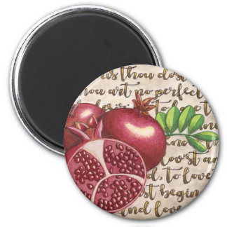 Pomegranate Love Once Again Magnet