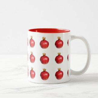 Pomegranate Two-Tone Coffee Mug