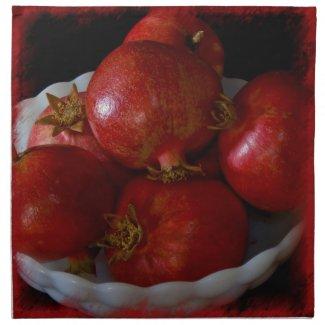 Pomegranate Napkin 1 napkin