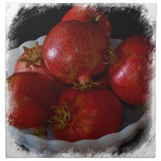 Pomegranate Napkin 2 napkin