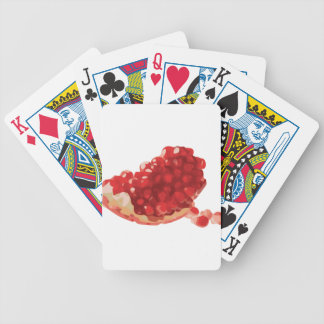 Pomegranate Open and Delicious Bicycle Playing Cards