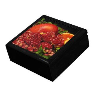 Pomegranate, Orange and Mint Keepsake Box