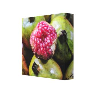 Pomegranate photo canvas print