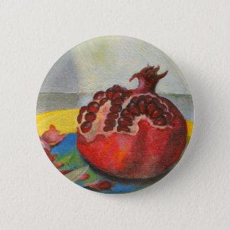 pomegranate pinback button