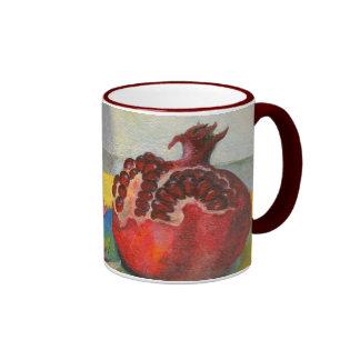 pomegranate ringer mug
