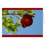 Pomegranate Rosh Hashanah Card