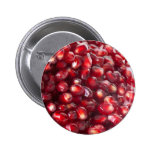 Pomegranate seeds 2 inch round button