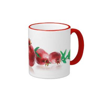 Pomegranate Serenade Mug