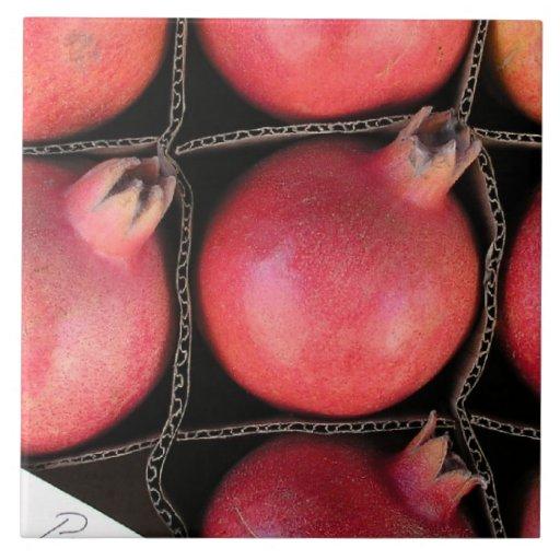 Pomegranate Tile