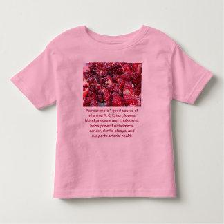 Pomegranate toddler shirt