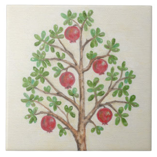 Pomegranate Tree wall tile