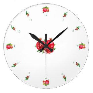 Pomegranate V1 Wall Clock
