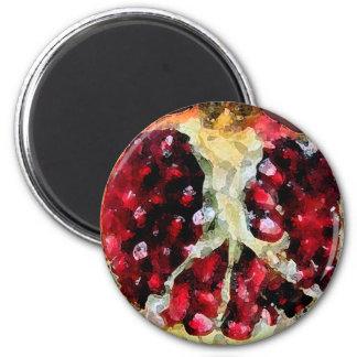 Pomegranate Watercolor - Magnet