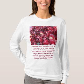 Pomegranate womens hoodie