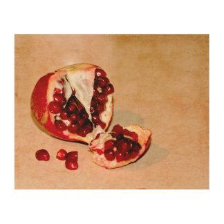 Pomegranate Wood Wall Decor