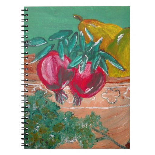 Pomegranates And Pears Notebook