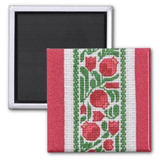 Pomegranates and Silk Magnet