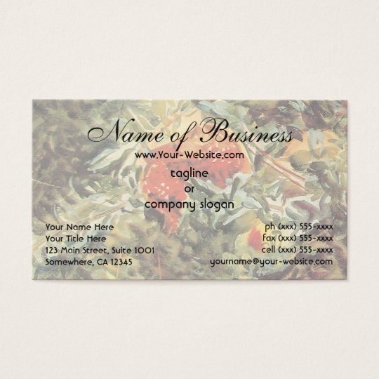 Pomegranates II by John Singer Sargent Business Card
