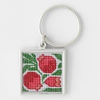 Pomegranates keychain